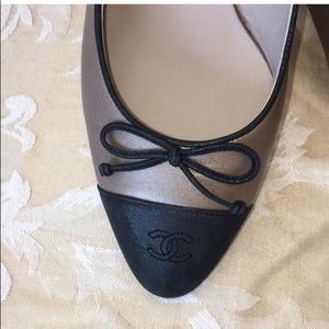 CHANEL Shoes - Chanel Slingback Bow Pumps